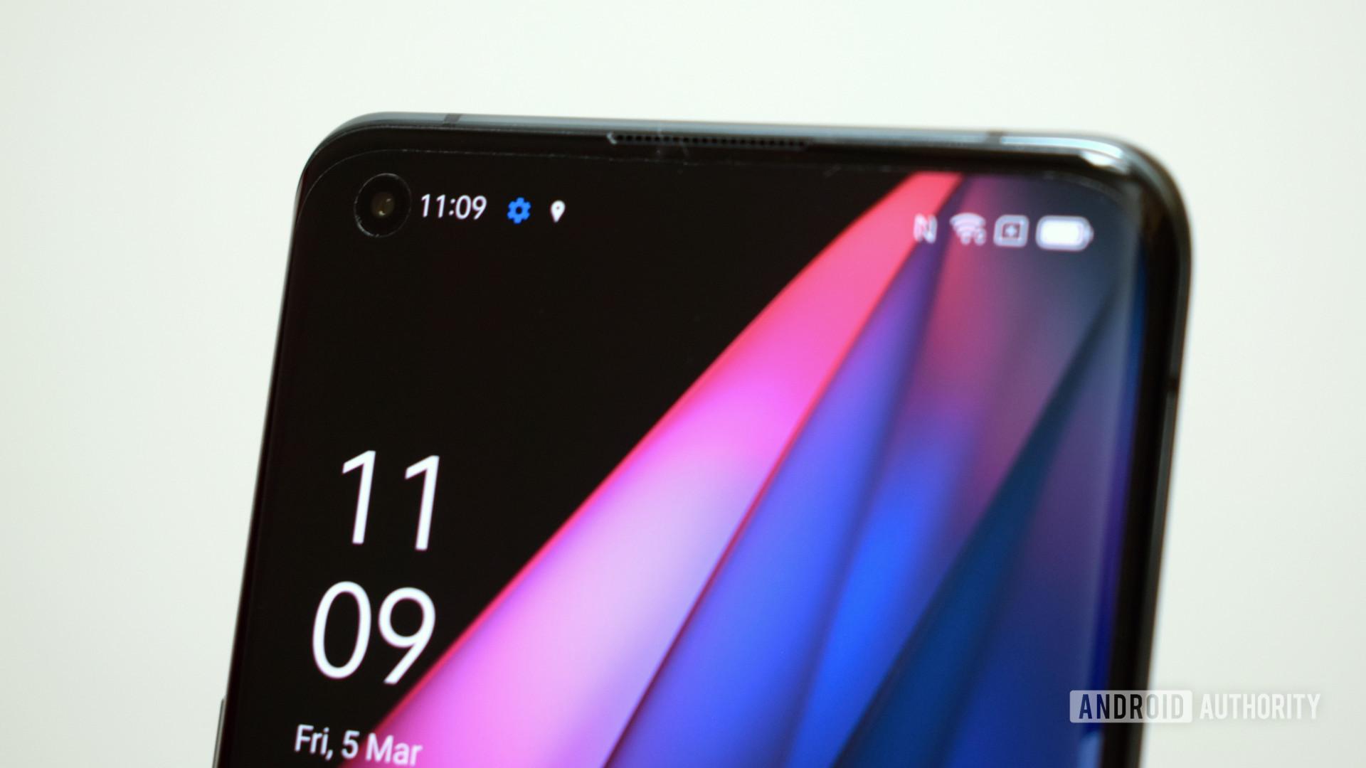 Oppo Find X3 Pro selfie camera
