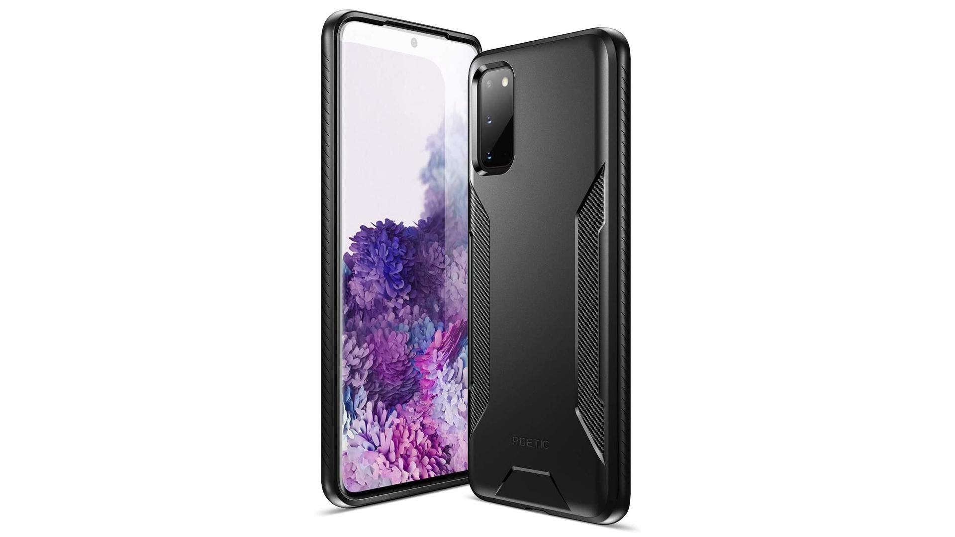 Poetic Karbon Shield Samsung Galaxy S20 case