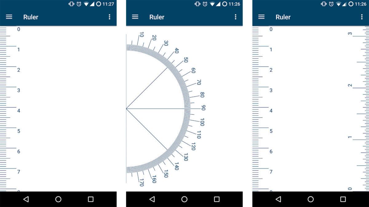 Privacy Friendly Ruler screenshot 2021