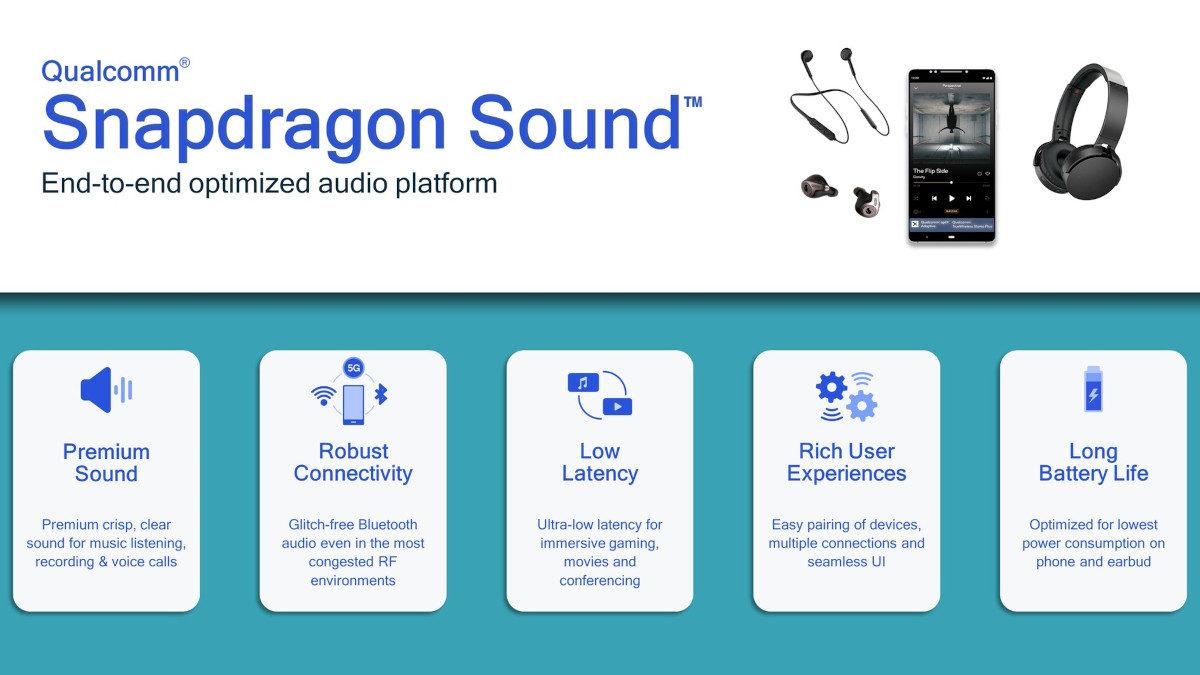 Qualcomm Snapdragon Sound slide