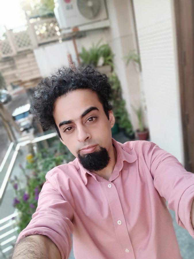 Realme Narzo 30 Pro selfie camera portrait mode