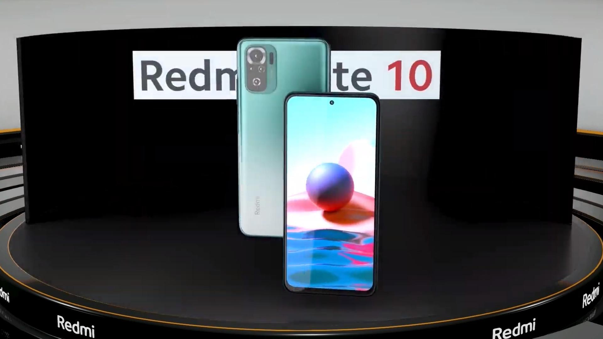 Redmi Note 10 india