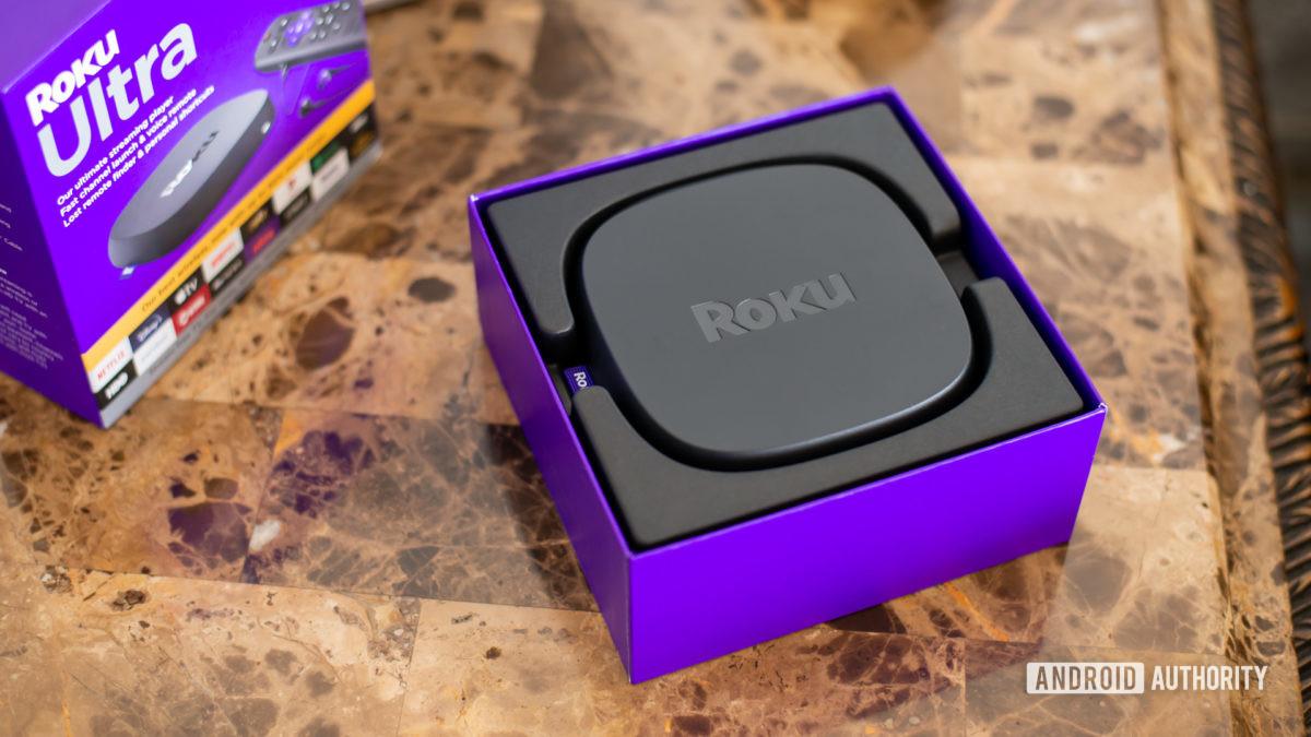 Roku Ultra on package