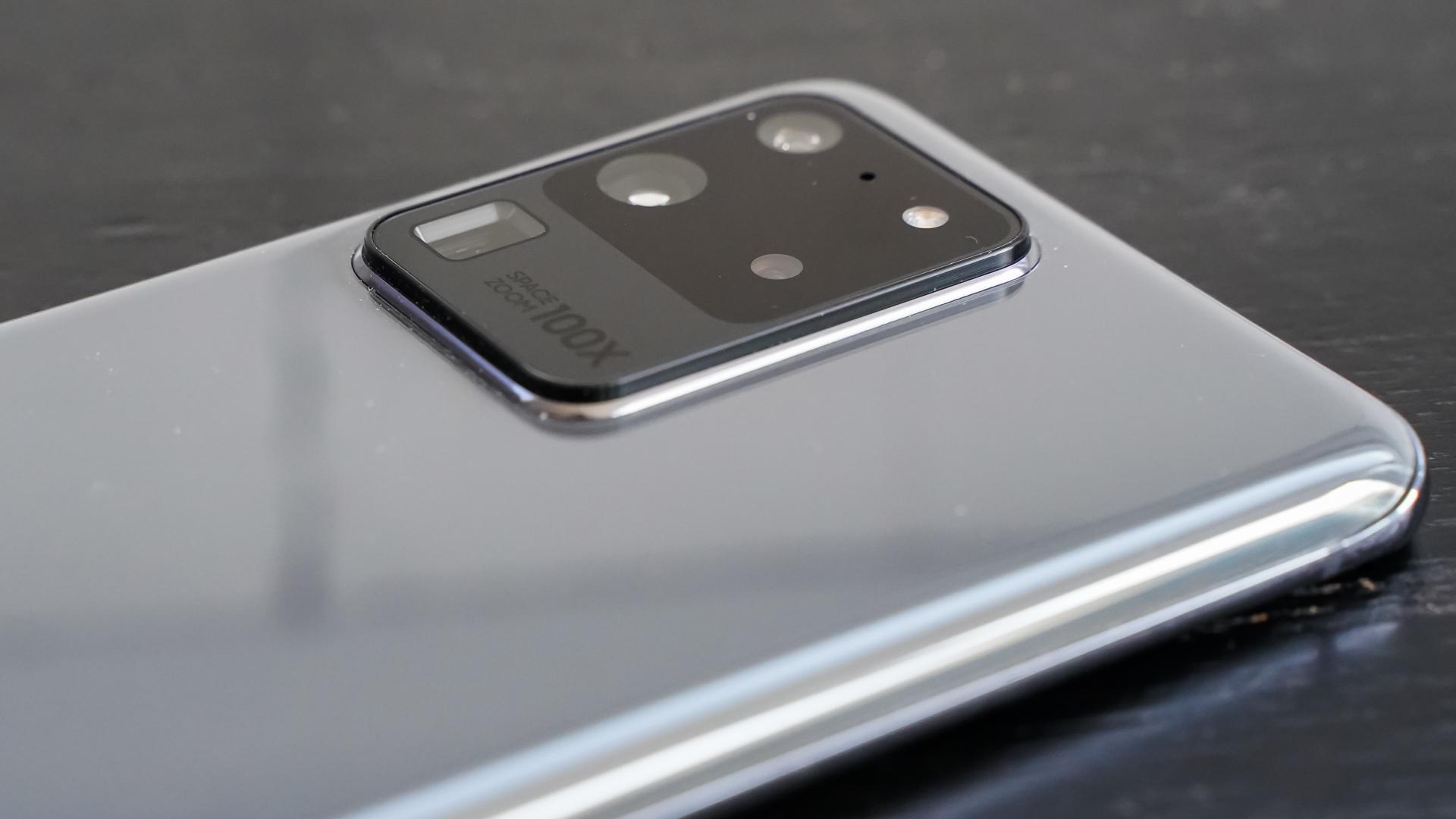 Samsung Galaxy S20 Ultra camera profile