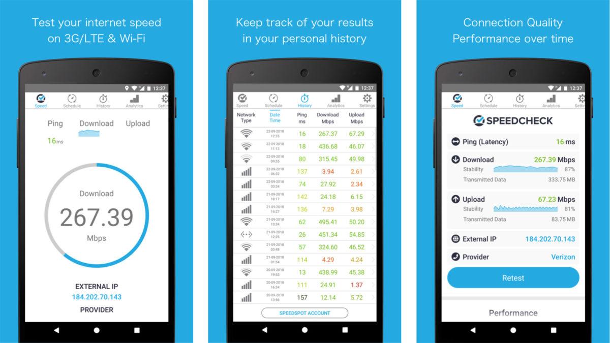 Simple Speedcheck screenshot