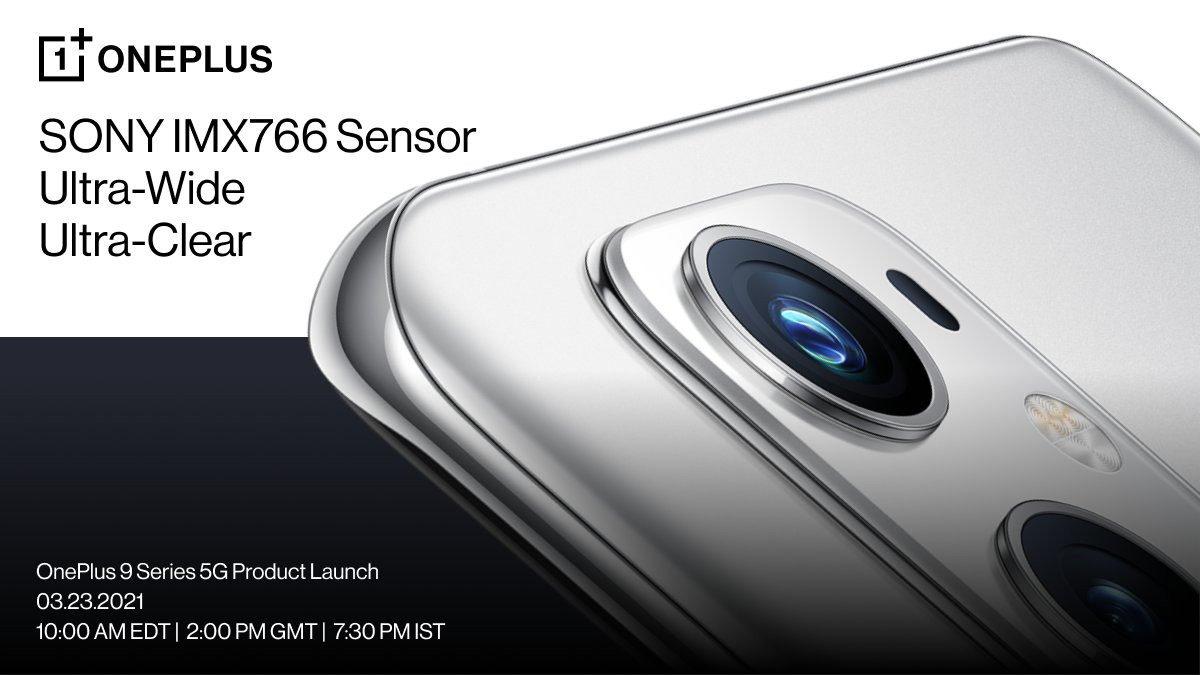 Sony série IMX766 OnePlus 9