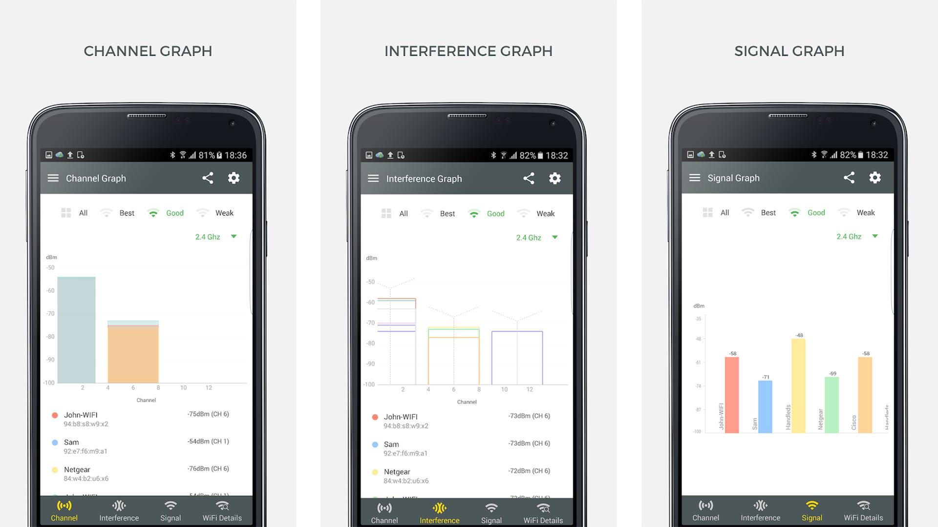 WiFi Analyzer and Surveyor screenshot 2021