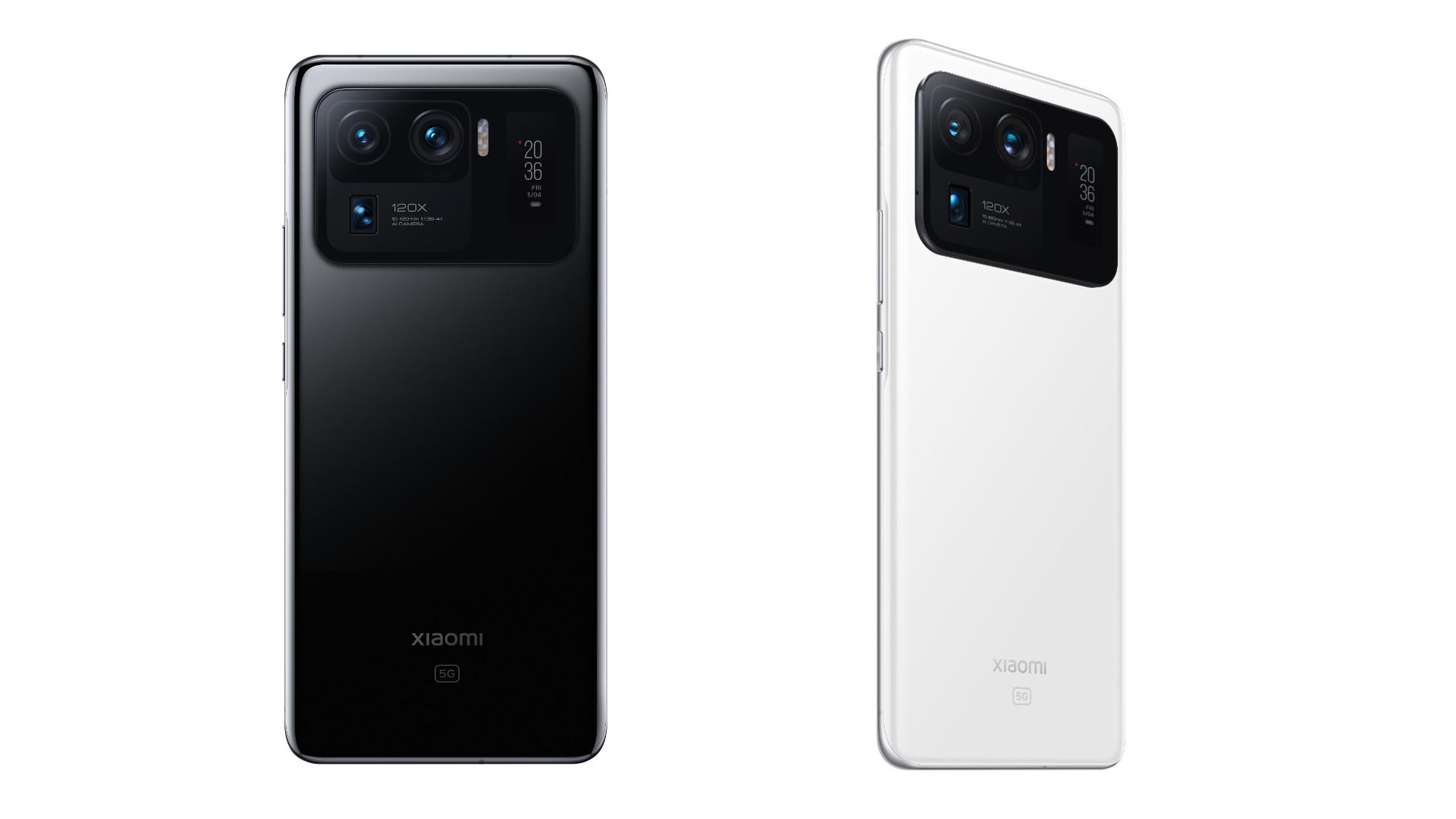 Xiaomi Mi 11 Ultra backs