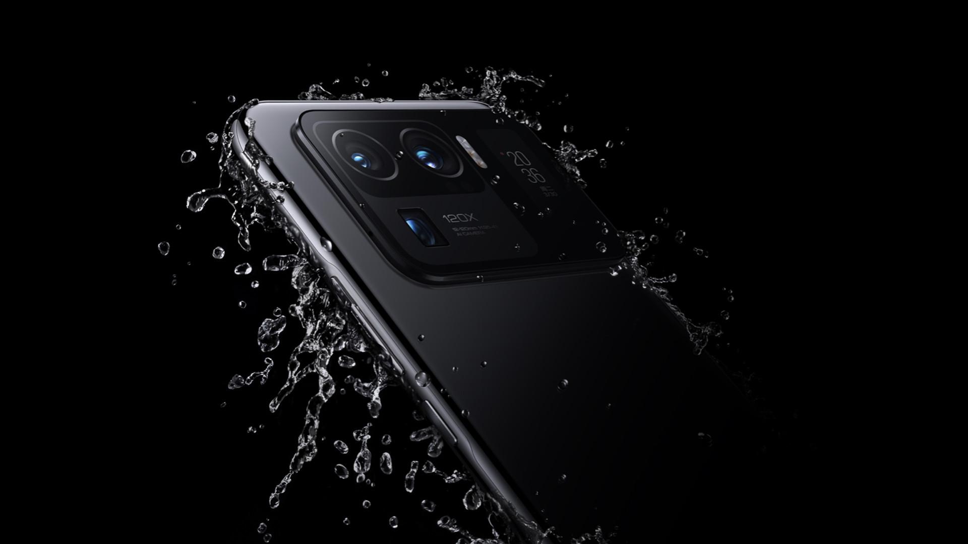 Xiaomi Mi 11 Ultra splash