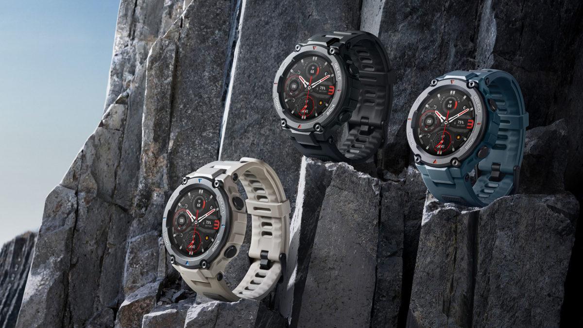 amazfit t-rex pro rugged smartwatch