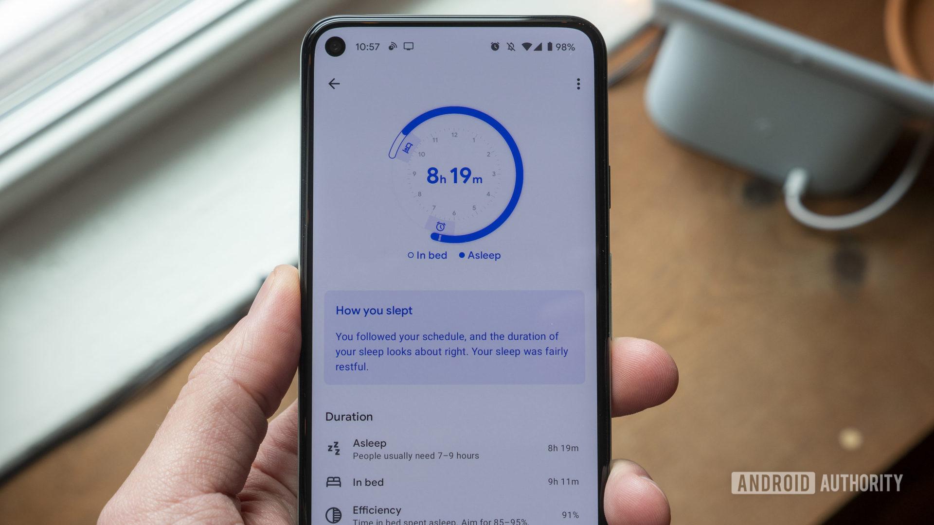 google nest hub second generation review google fit sleep sensing duration