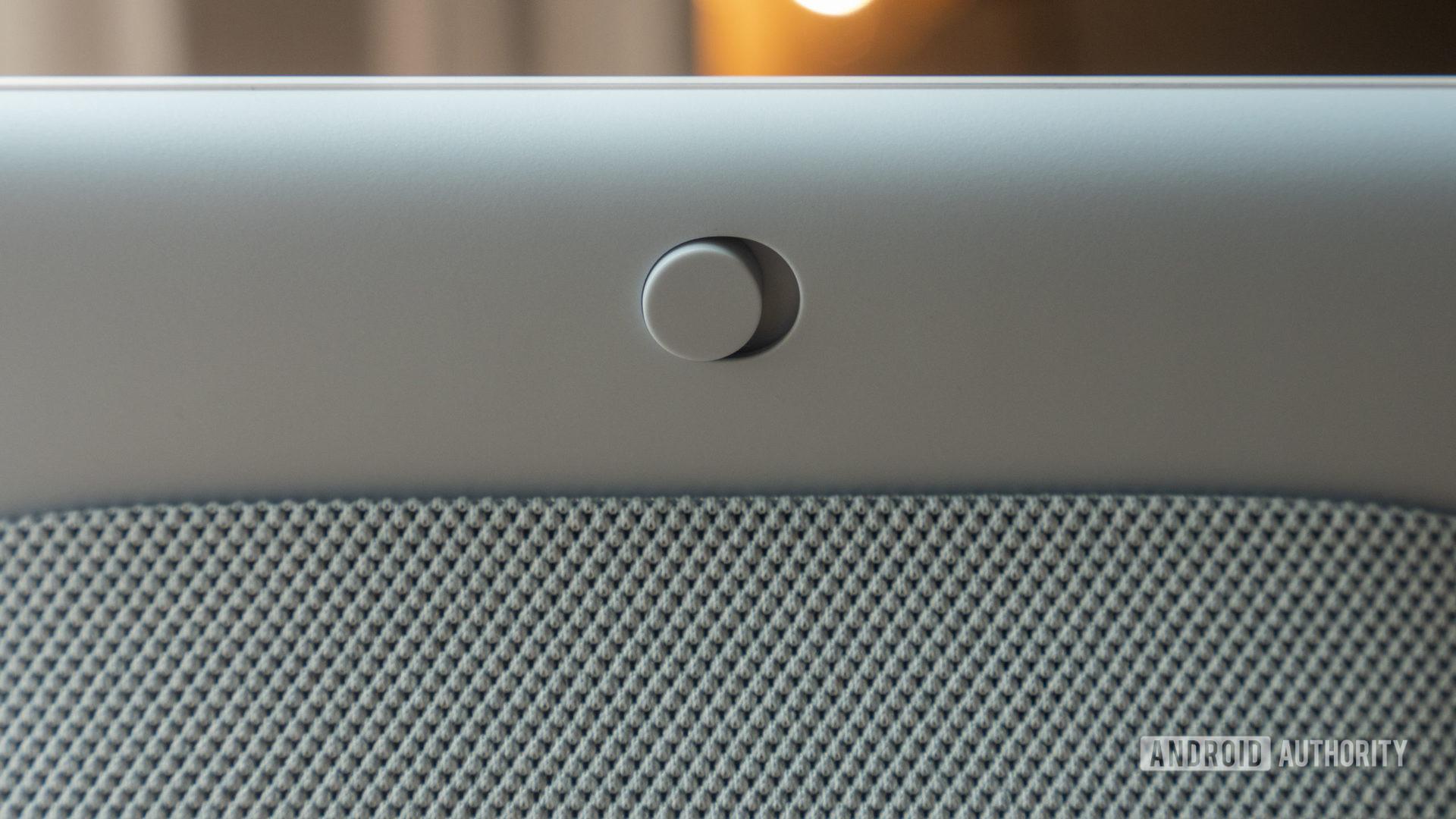 google nest hub second generation review hardware mute switch