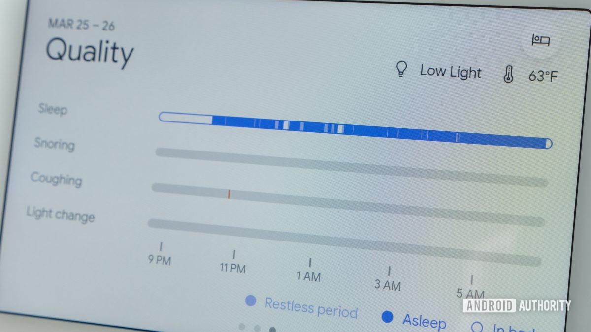 google nest hub second generation review sleep sensing sleep quality