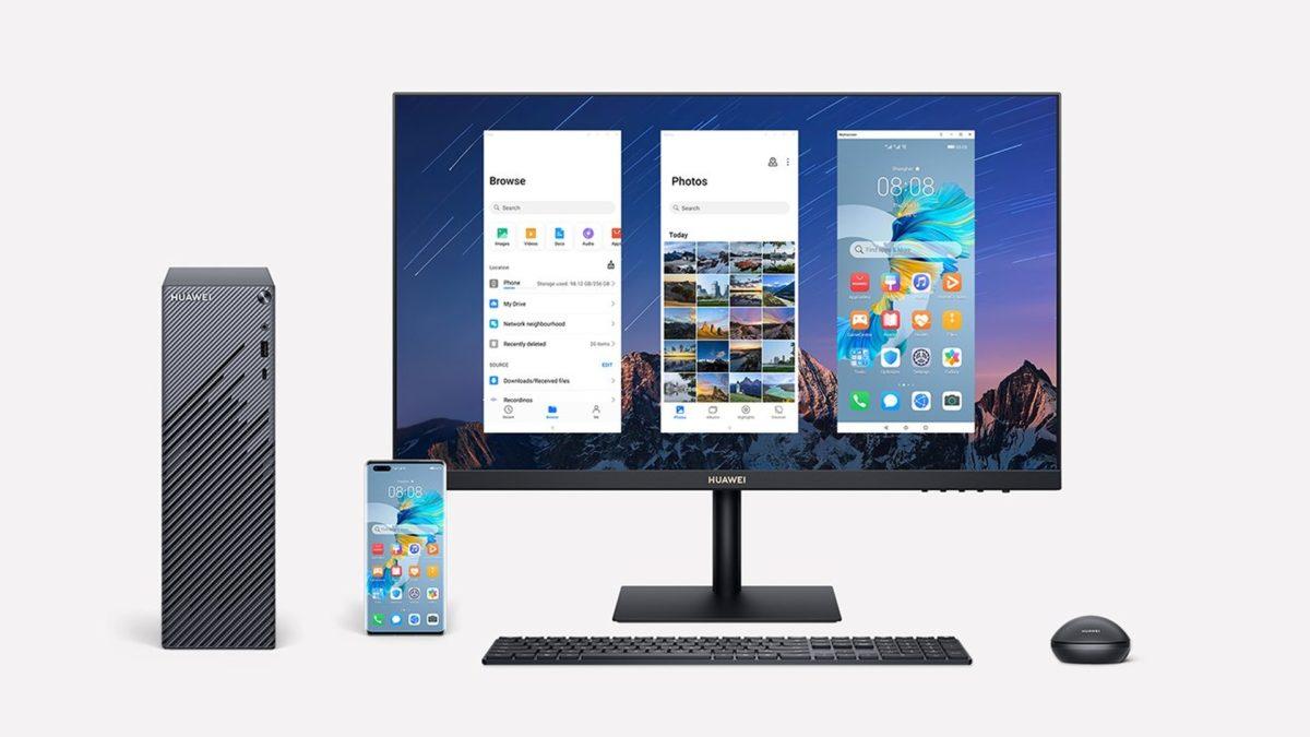 huawei mate station s desktop