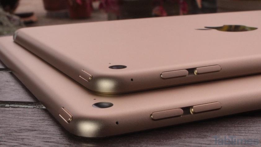 iPad Mini 4 vs iPad Air 2 camera buttons 2