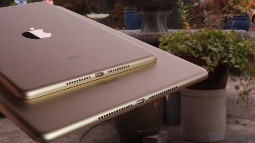iPad Mini 4 vs iPad Air 2 speaker grills 3
