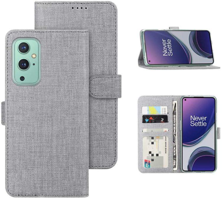 feitenn wallet case for the oneplus 9