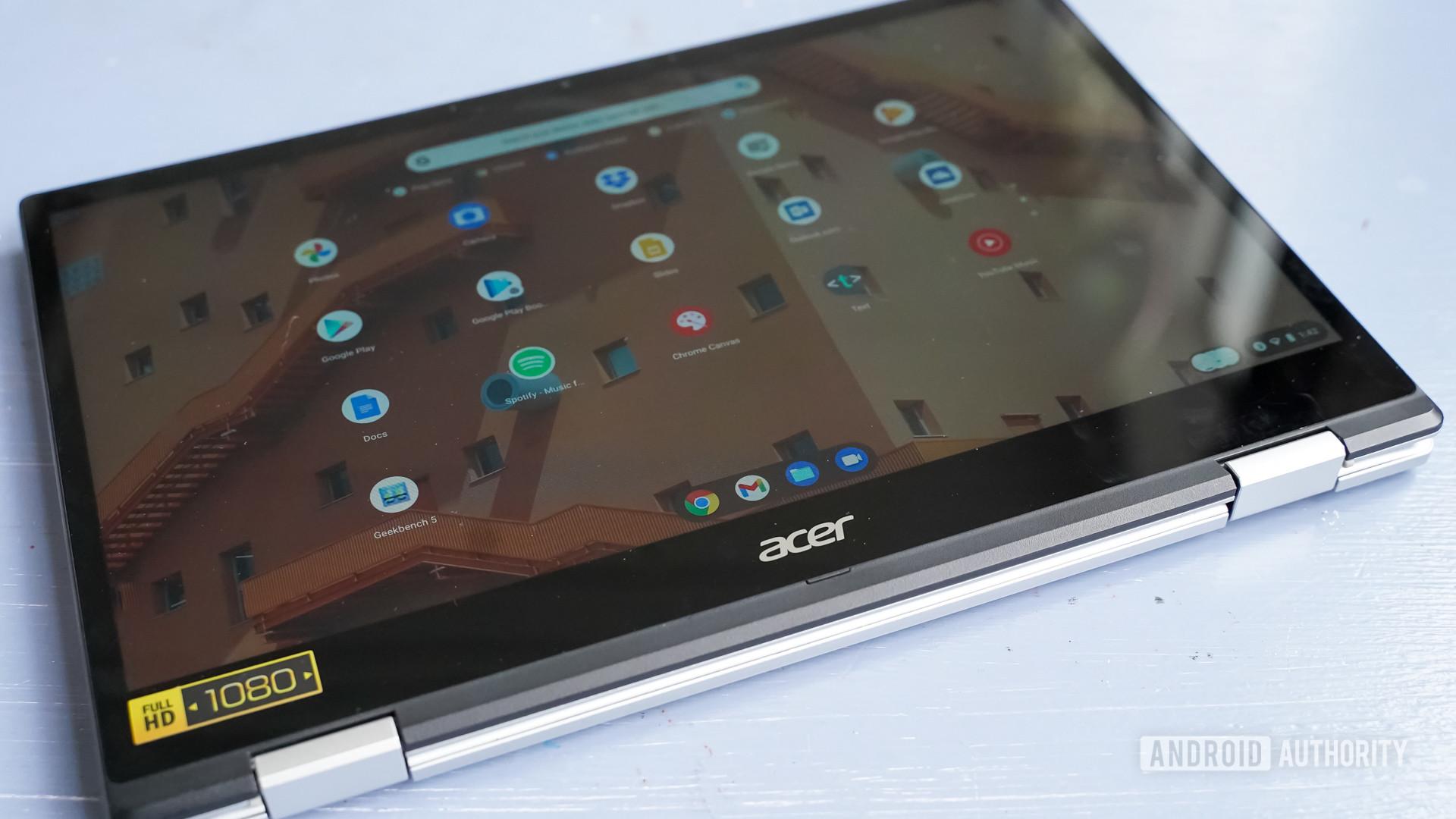 Acer Chromebook Spin 513 tablet