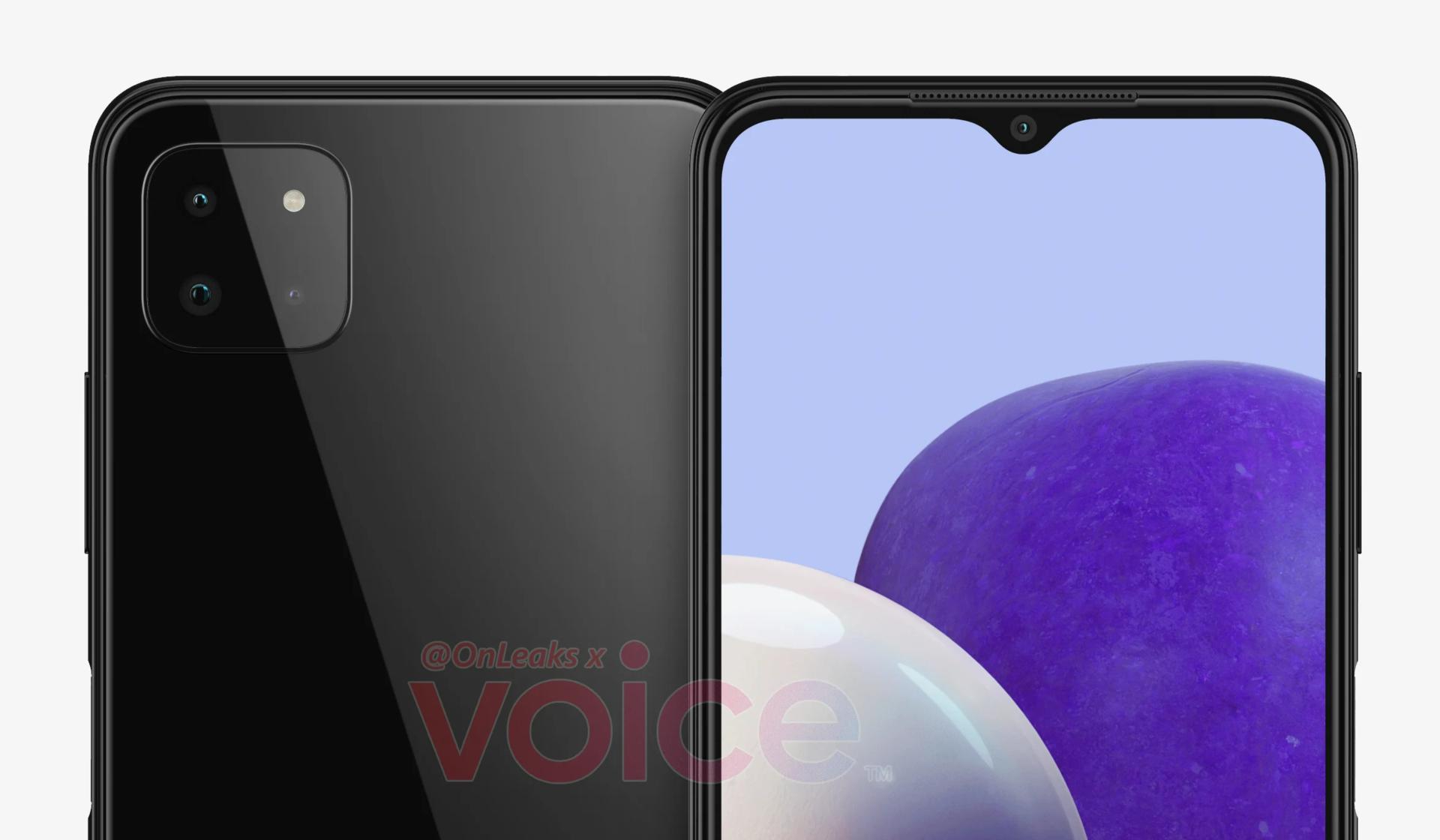 Galaxy A22 5G render Featured