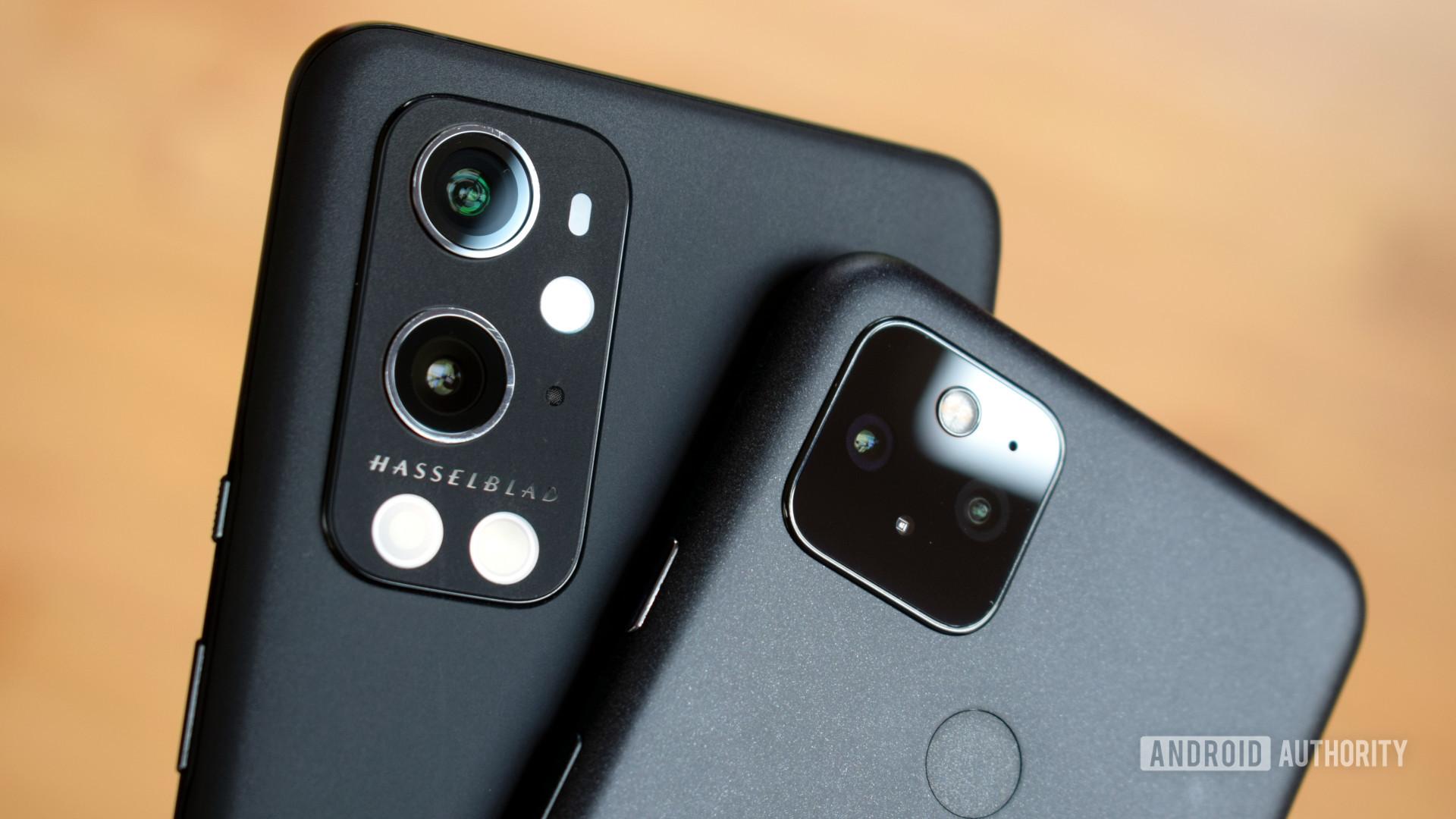 Google Pixel 5 vs OnePlus 9 Pro cameras