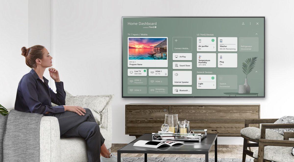 LG 65 inch Class 4K UHD Smart 80 Series TV Promo Image