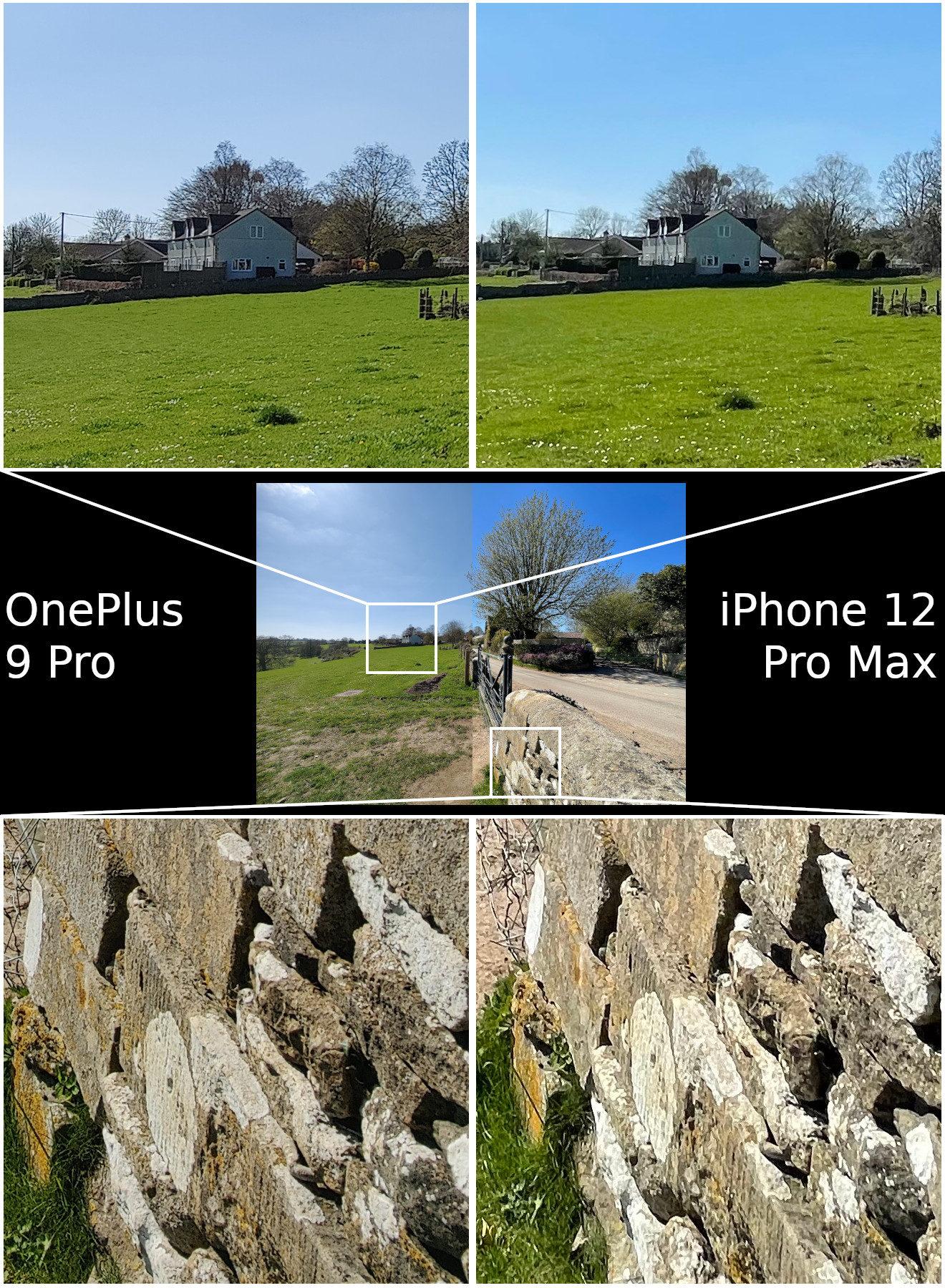 Camera shootout: OnePlus 9 Pro vs Apple iPhone 12 Pro Max
