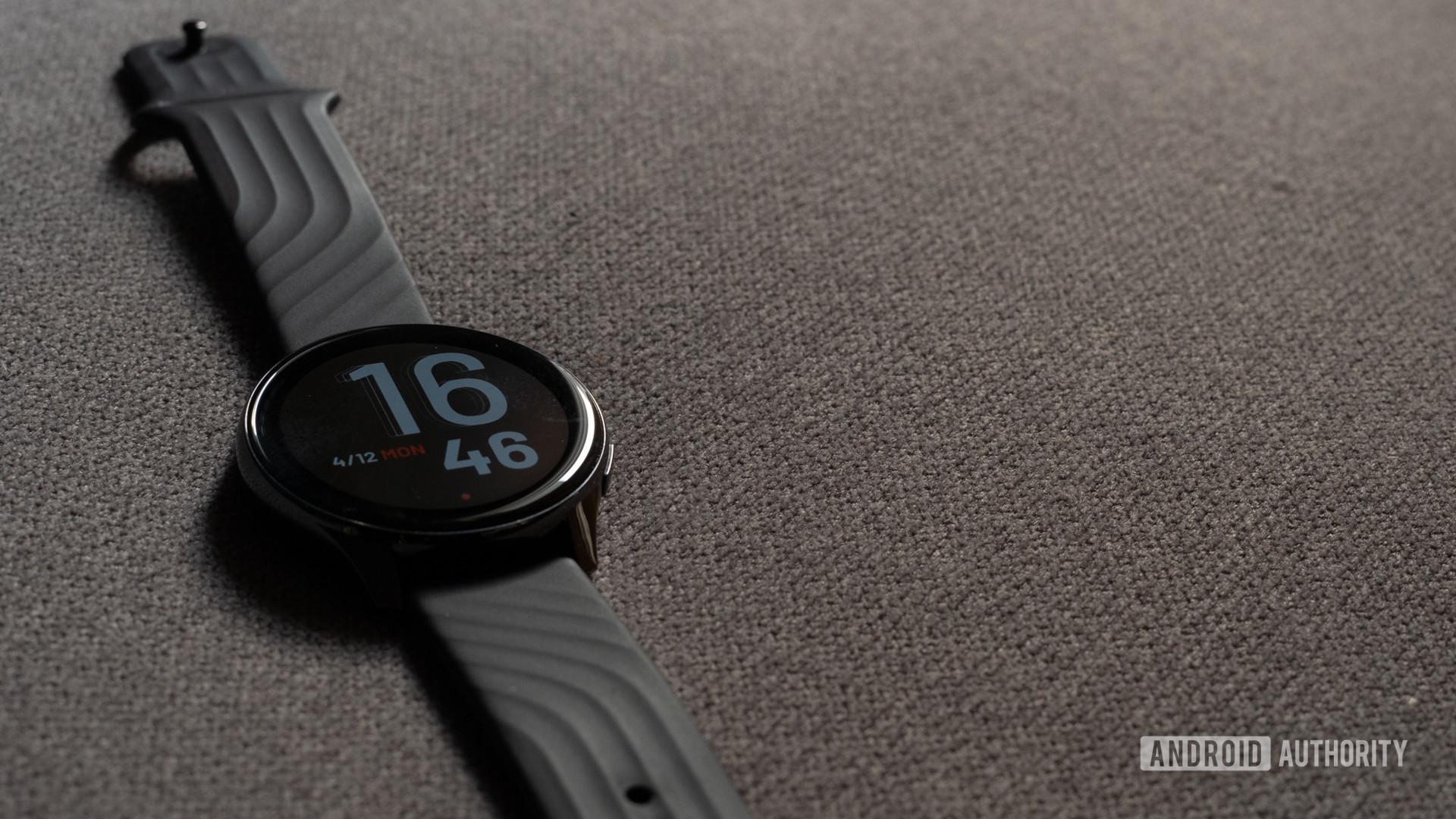 OnePlus Watch side profile