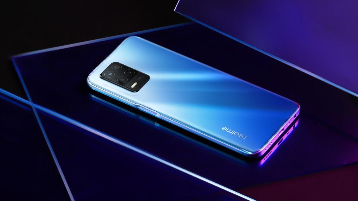 Realme 8 5G supersonic blue