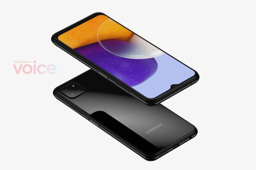 Samsung Galaxy A22 5G renders 3
