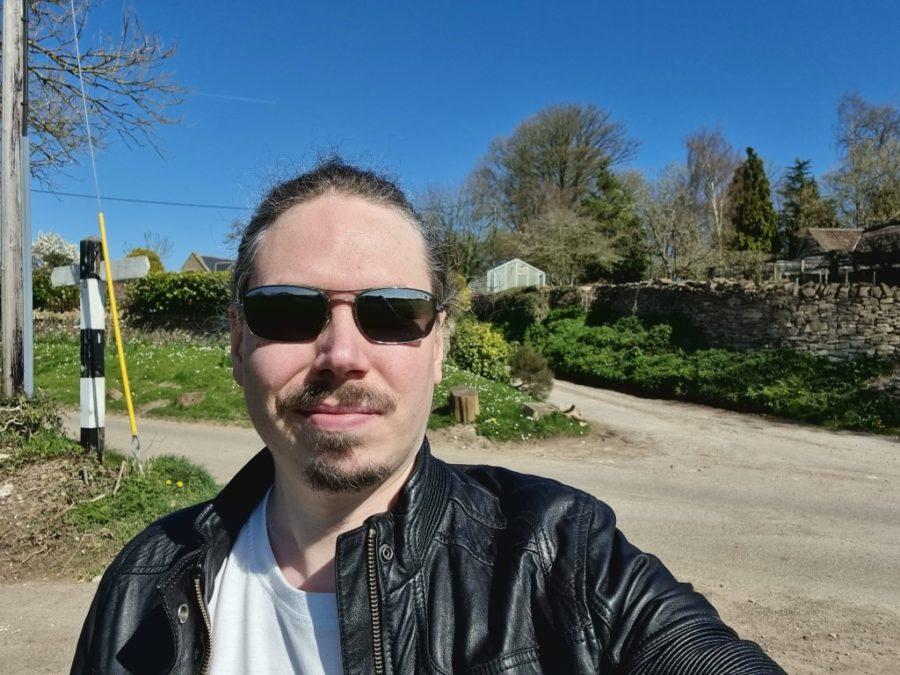Samsung Galaxy S21 Ultra camera selfie 1