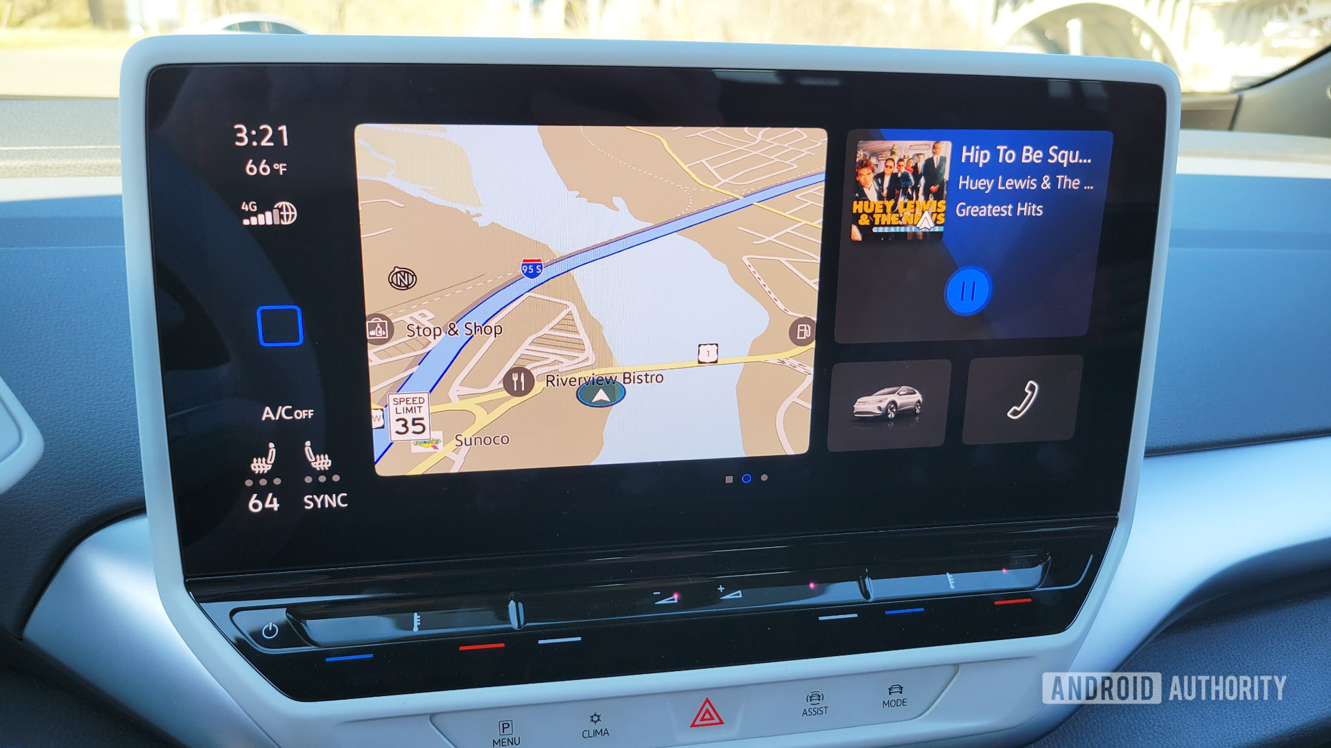 Volkswagen ID.4 Infotainment without Android Auto