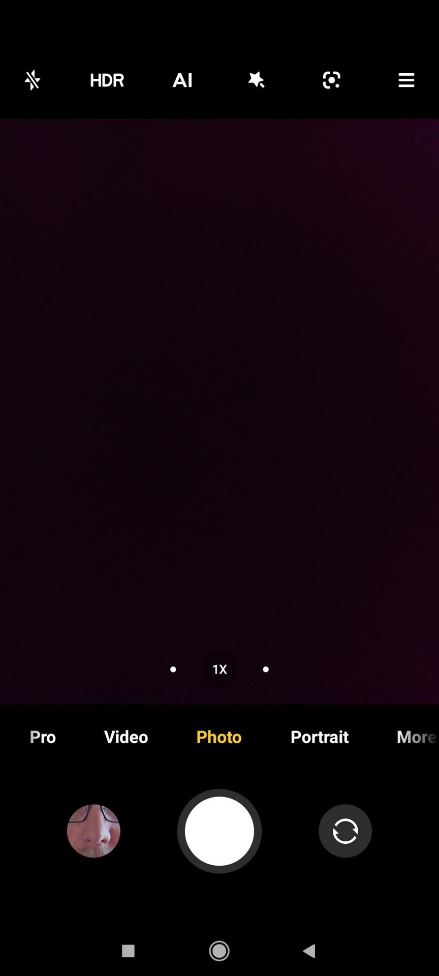 Xiaomi Mi 11 Ultra Camera app