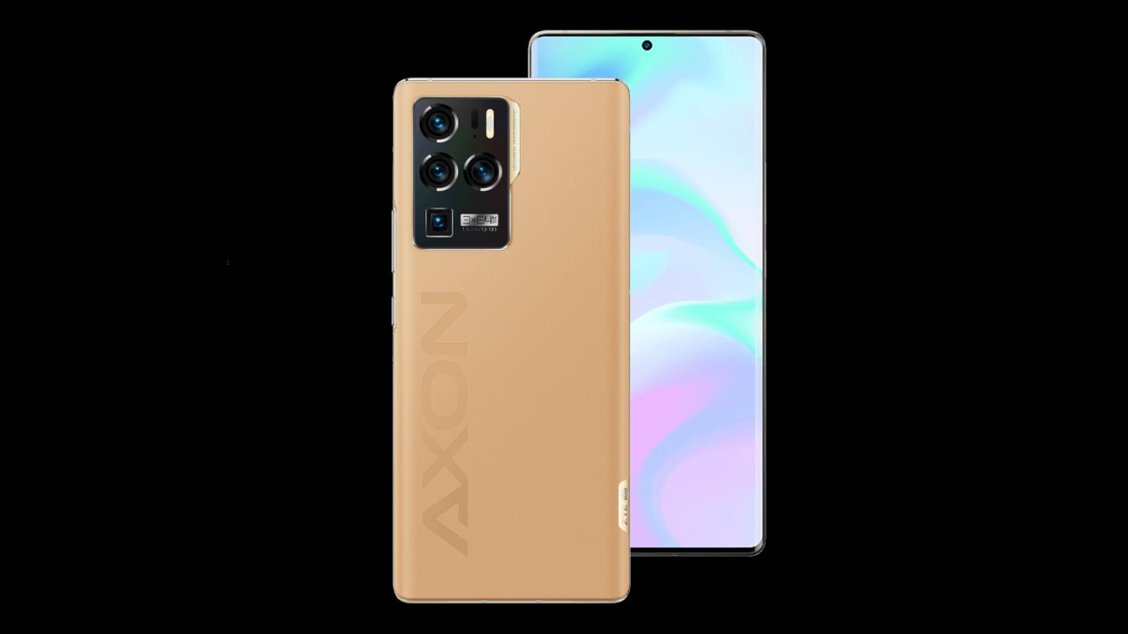 ZTE Axon 30 Ultra branding
