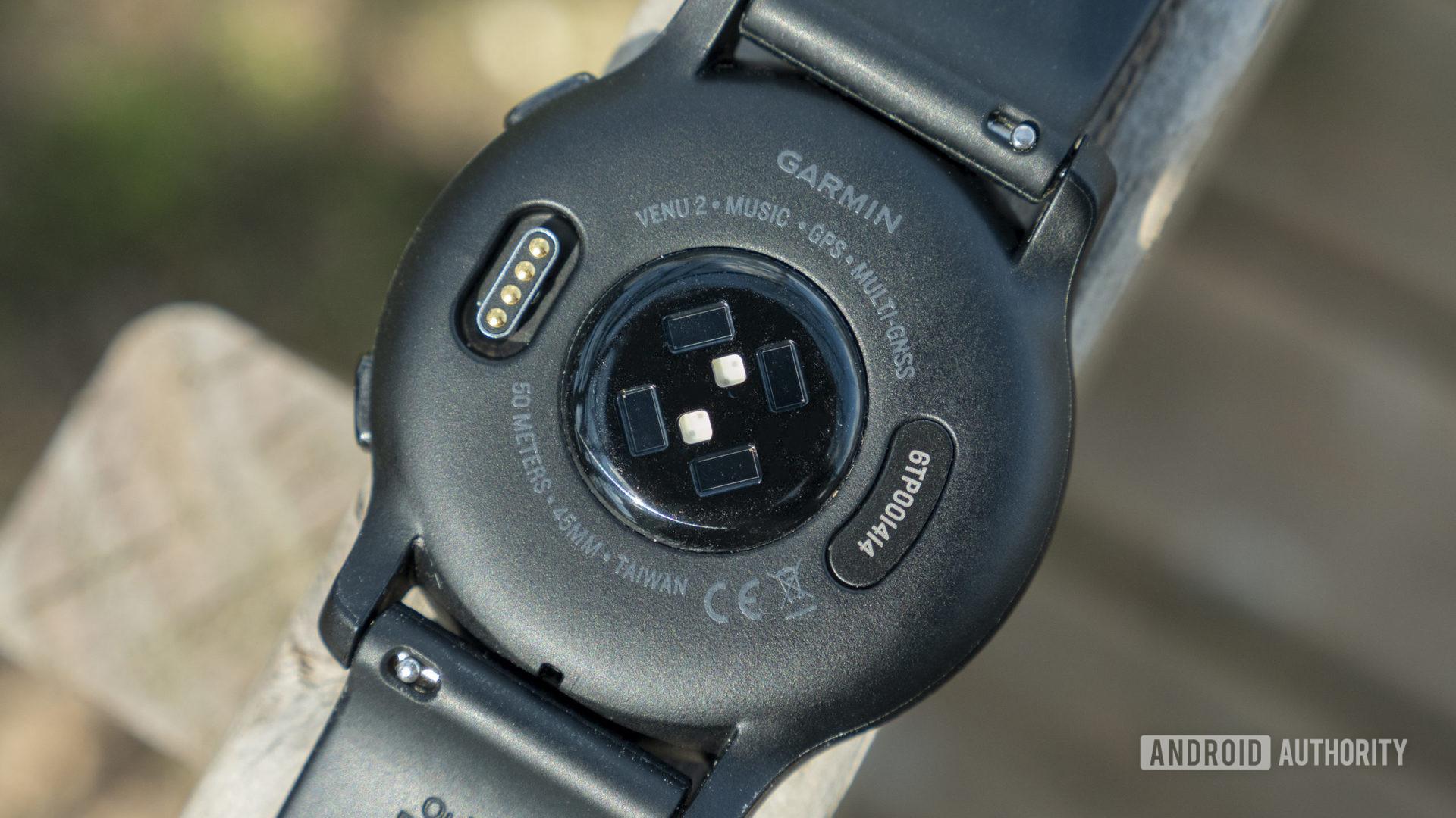 garmin venu 2 review heart rate sensor monitor