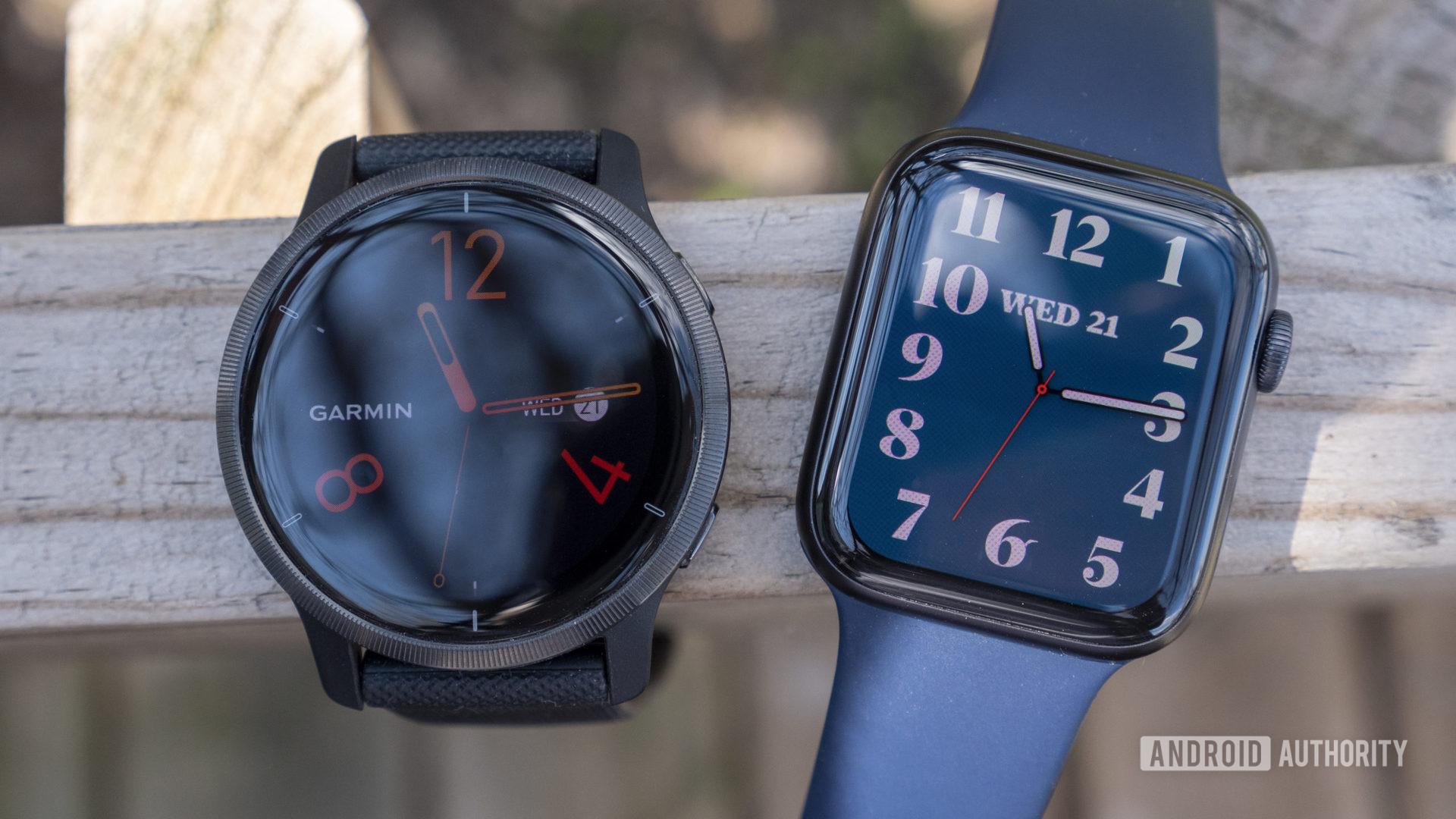 garmin venu 2 vs apple watch series 6