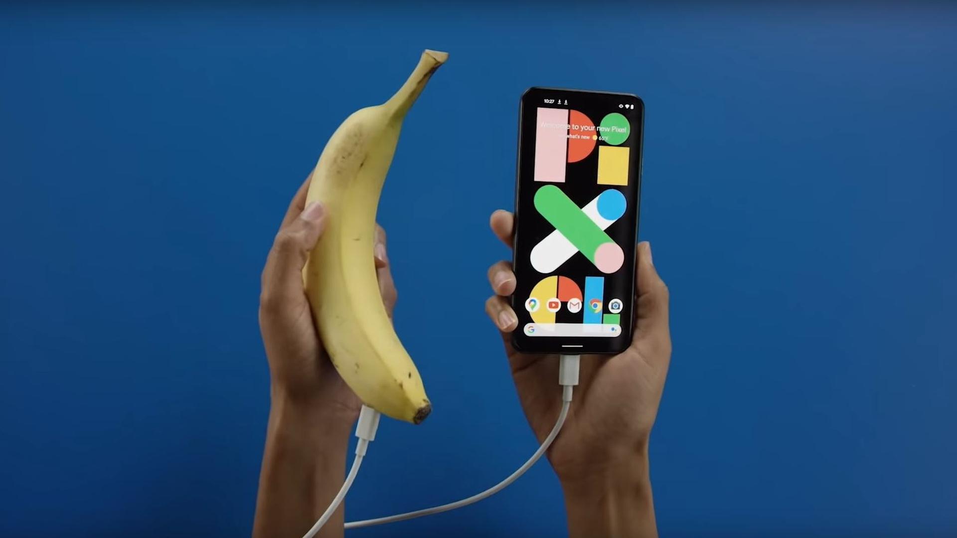 google pixel banana video