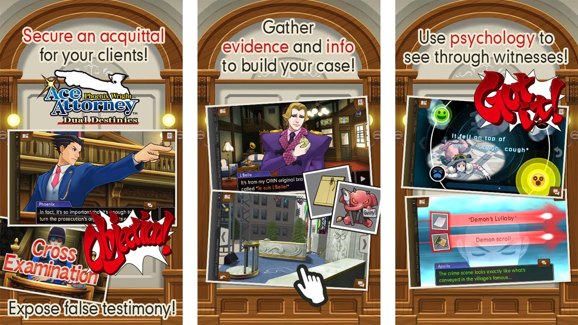 Ace Attorney Dual Destinies screenshot 2021