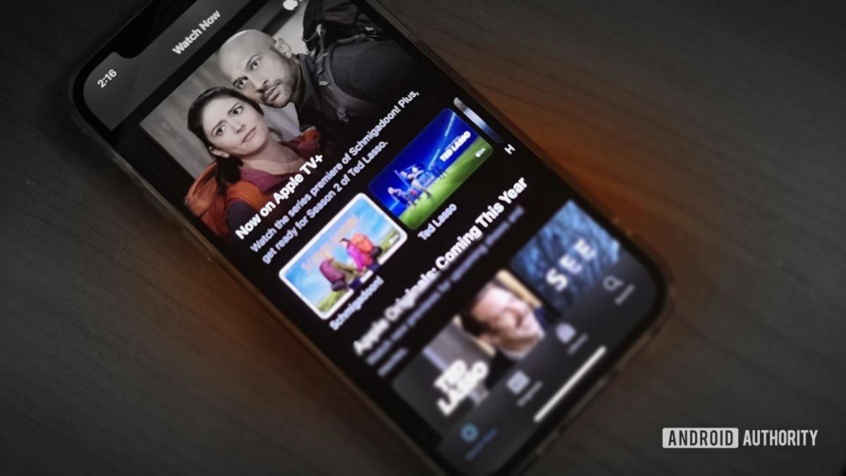 Apple TV Plus On iPhone