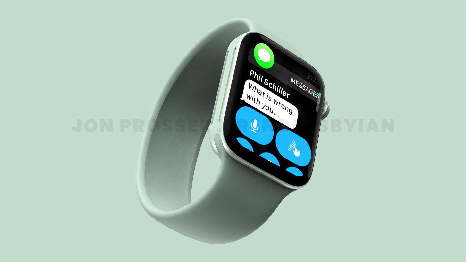 Apple Watch 7 green