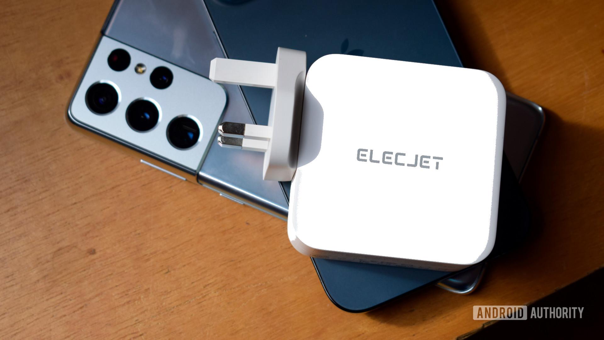 Electjet 100W USB C PD Power Adapter review 1