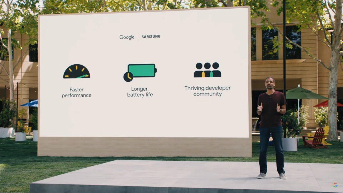Google IO 2021 Sameer Samat talks Samsung partnership