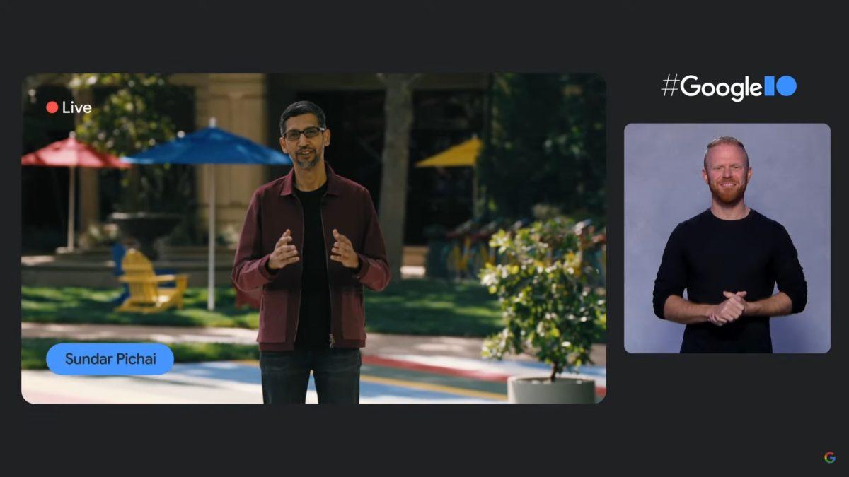 Google IO 2021 Sundar Pichai