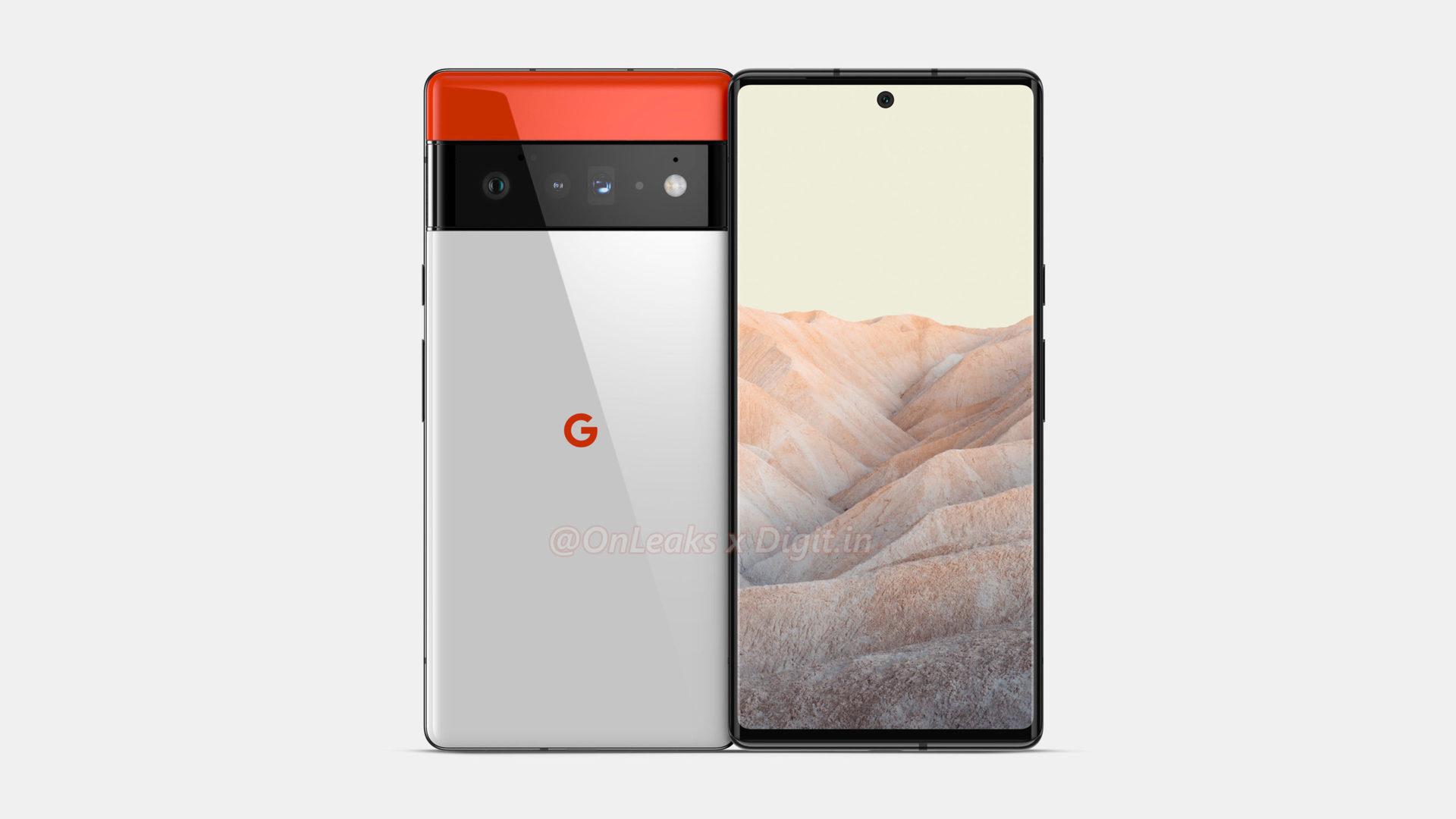 Google Pixel 6 Pro Hemmerstoffer Renders 1