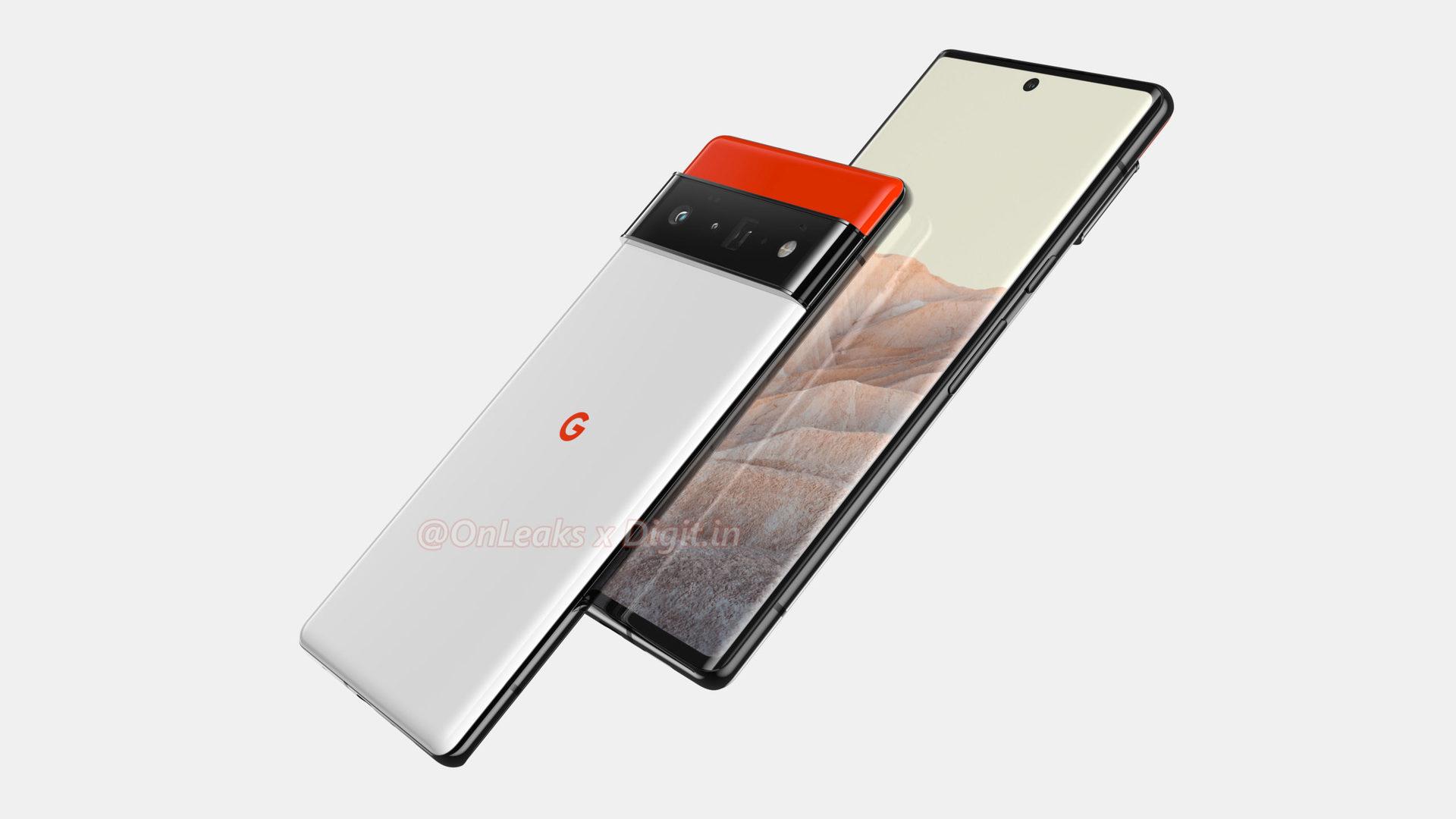 Google Pixel 6 Pro Hemmerstoffer Renders 2