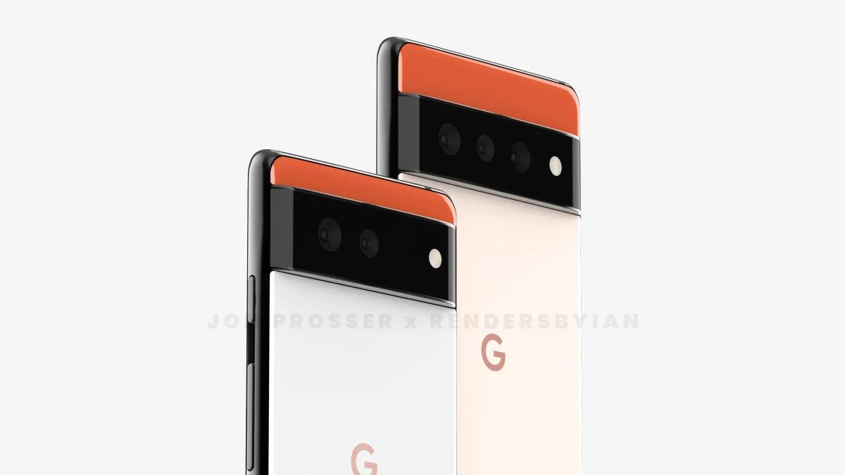 Google Pixel 6 Pro Leaked Renders 1