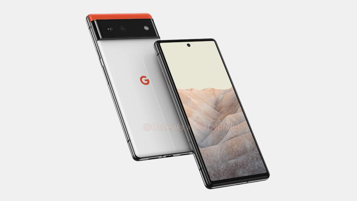 Google Pixel 6 Renders OnLeaks 2