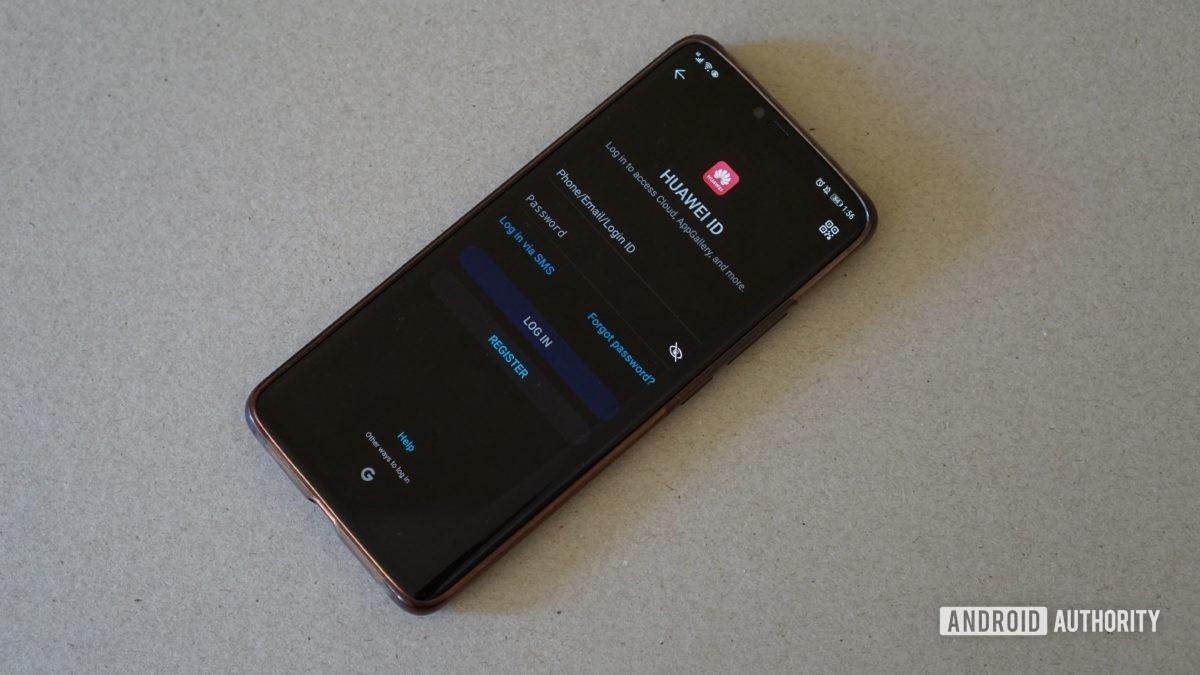 Compte Huawei OEM