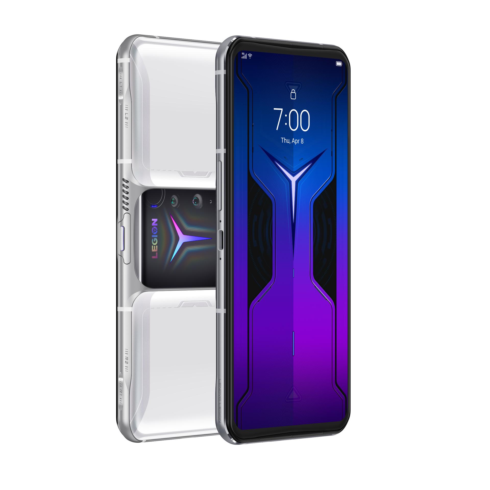 Lenovo Legion Phone Duel 2 Titanium White