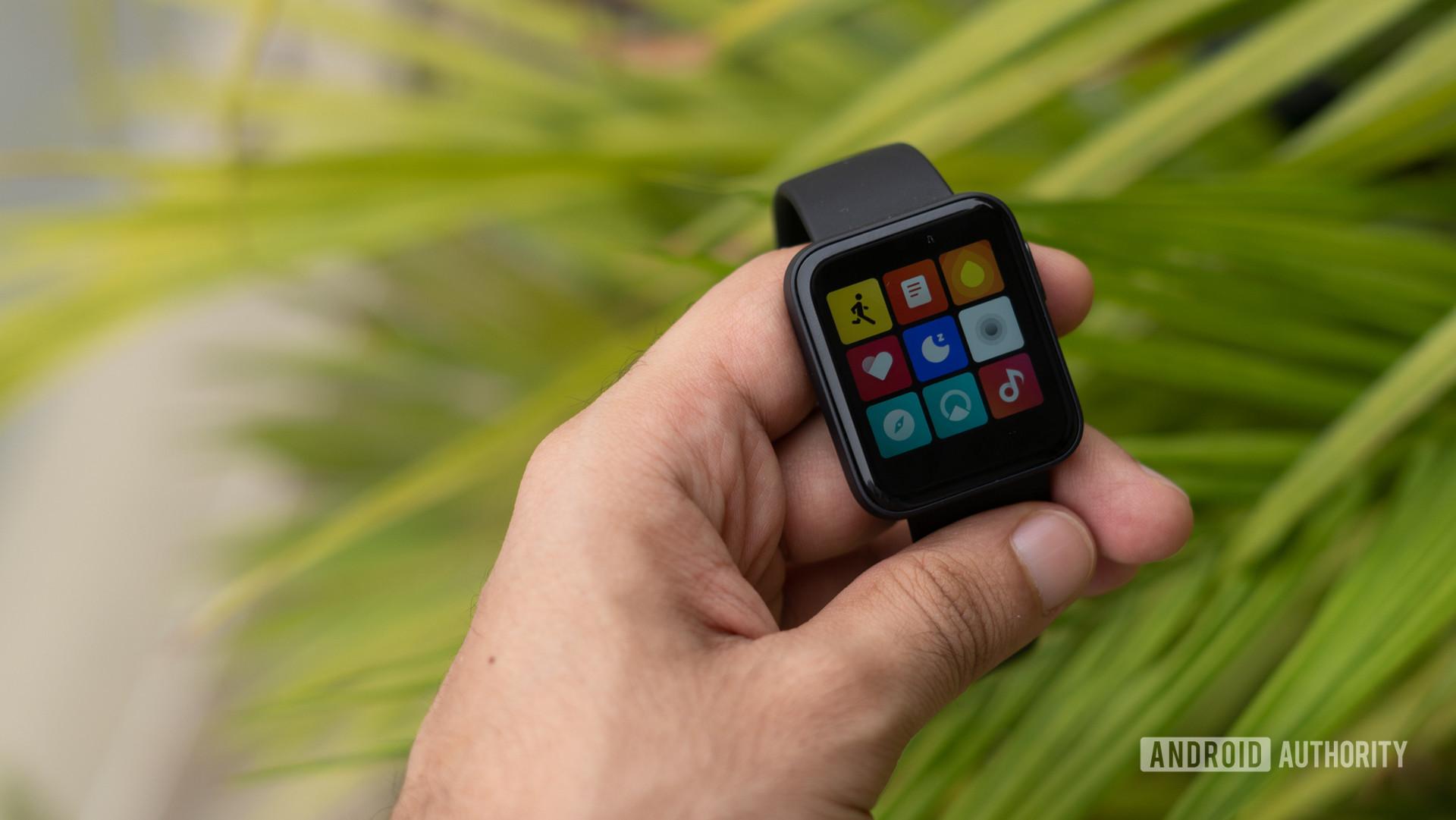 Redmi Watch showing app drawer