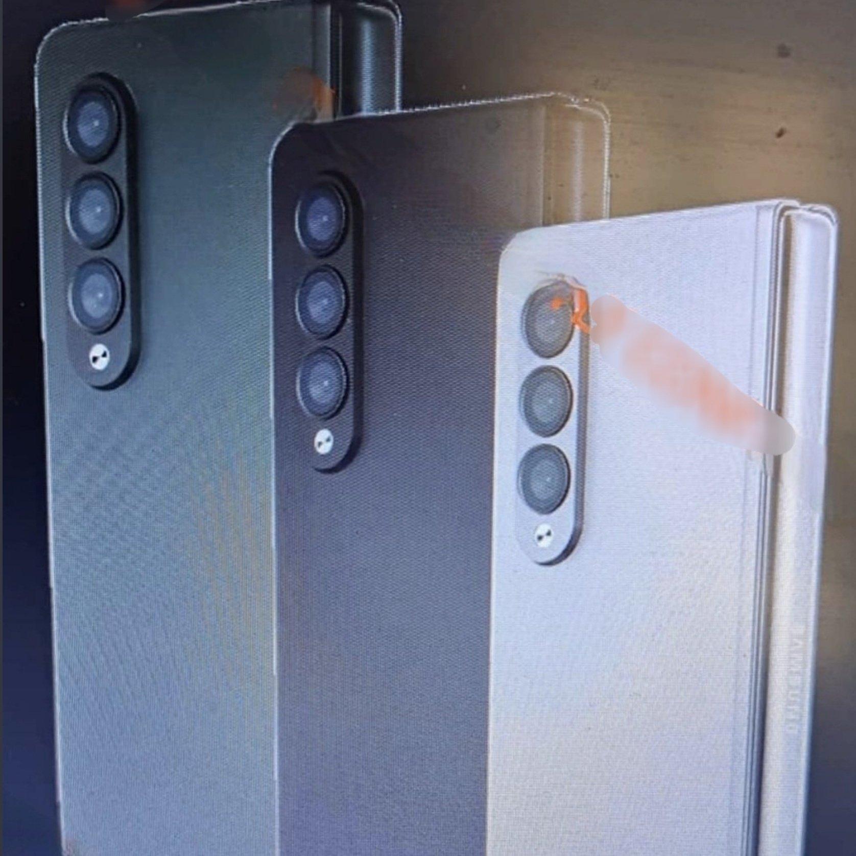 Samsung Galaxy Z Fold 3 leaked promo image 1
